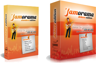 Jamorama | Guitar Learning System